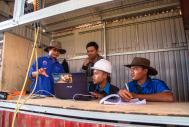 PT BKB staff  in South Kalimantan using CALPROF to record herd data