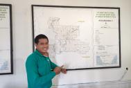 Esdinawan Carakantara Satrija, veterinarian at PT Sulung Ranch in Central Kalimantan