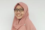 Aris Nurtumitah, participant of the first Partnership internship program